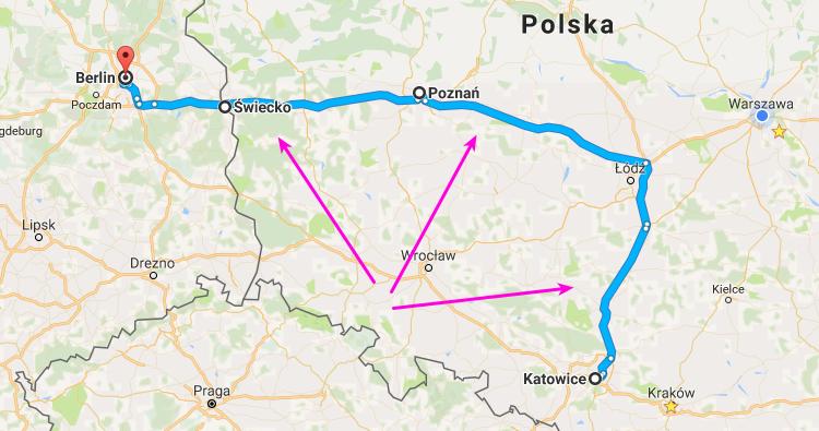 Integracja Punktów Pośrednich W Trasie Z Googlemaps Planbuspl