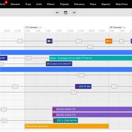 Wyliczanie czasu trwania przerw między trasami  w kalendarzu kierowców