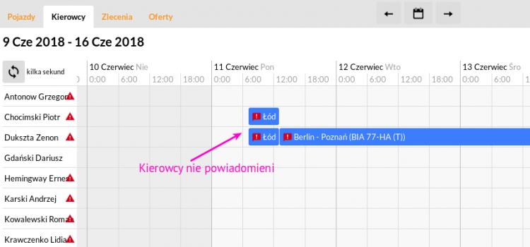 """Kierowca """"doprowadzający"""" jak to zrobić wykorzystując kilka dostępnych funkcji w PlanBus.pl"""